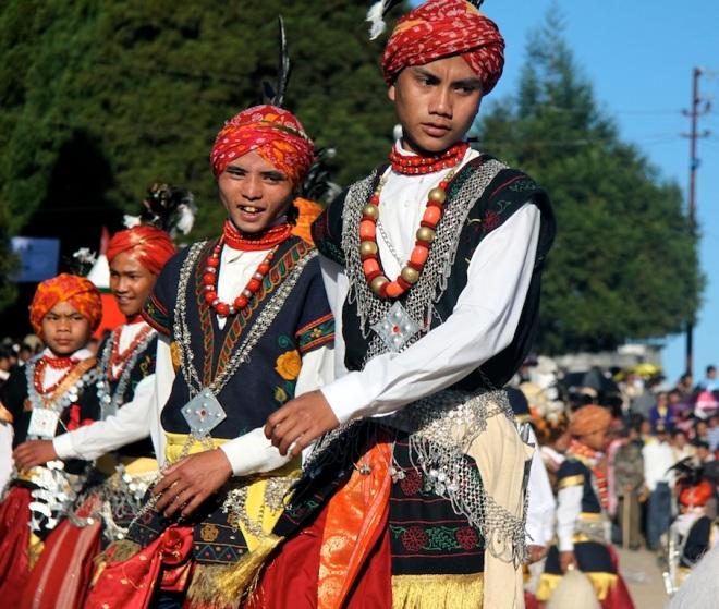 Annual Khasi Nongrem dance, Meghalaya, India